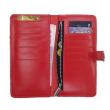 Кошелек с RFID защитой красный Locker Purse Red