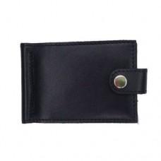 Зажим для купюр с RFID защитой черный Locker Clamp Black