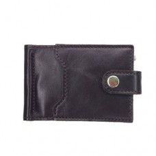 Зажим для купюр с 3 отделениями с RFID защитой коричневый Locker Clamp2 Brown