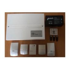 Комплект - Лунь 11 (ПКП) + Линд 11ТМ (Выносной модуль индикации и управления) + АКБ