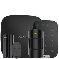 Ajax StarterKit + KeyPad – Расширенный комплект беспроводной сигнализации Ajax (черный / белый)